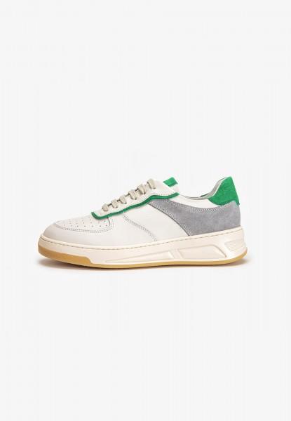 Inuovo Sneaker Leder Grün/Kombi