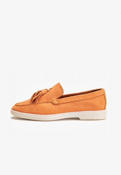 Inuovo Slipper Leder Orange