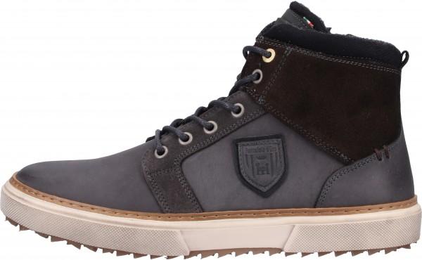 Pantofola d Oro Sneaker Leder Grau