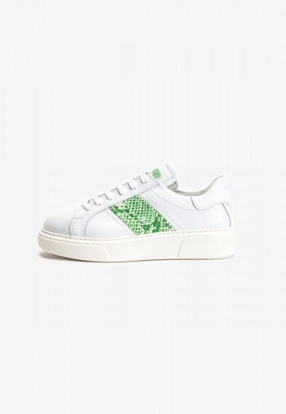Inuovo Sneaker Leder Weiß/Grün
