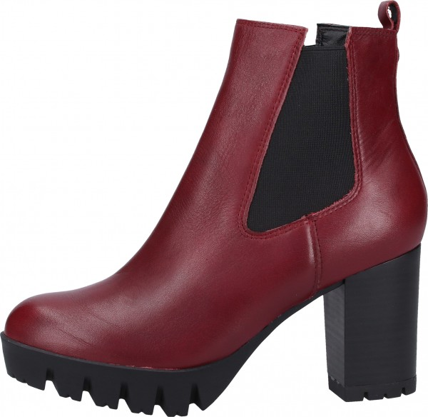 s.Oliver BLACK LABEL Stiefelette Leder Bordeaux