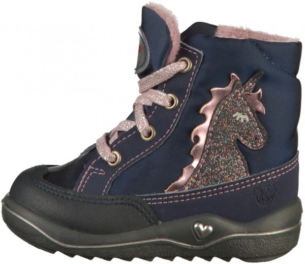 Pepino Boots Leather/Textile Blue