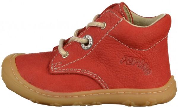 Pepino Halbschuhe Leder Rot
