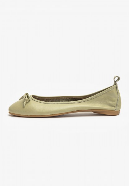 Inuovo Ballerinas Leather Olive