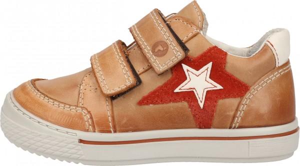 Ricosta Sneaker Leder/Synthetik Cognac