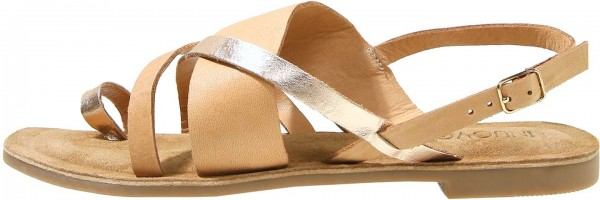Inuovo Sandals Leather Light Brown