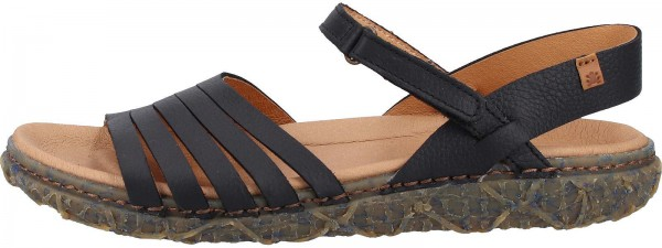 El Naturalista Sandals Leather black2