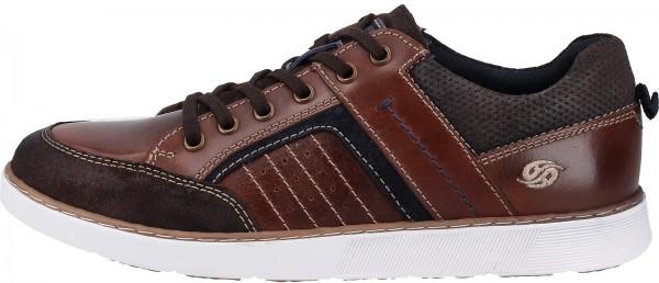 Dockers Sneaker Veloursleder Braun/Blau