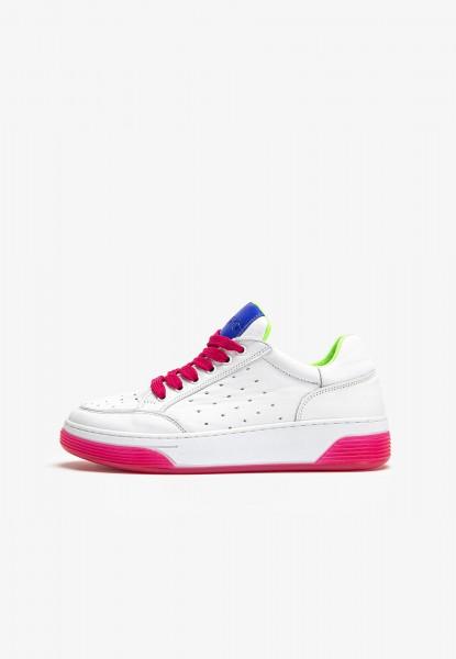 Inuovo Sneaker Leder Blau/Pink