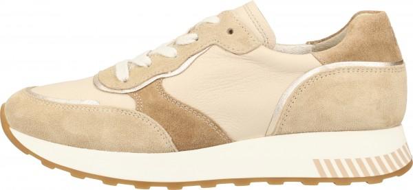 Paul Green Sneaker Leder Beige/Gold