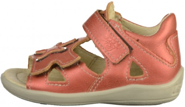 Pepino Sandals Leather Red