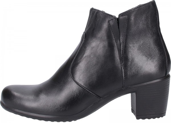 Bama Booties Leather black2