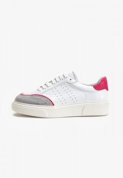 Inuovo Sneaker Leder Fuchsia