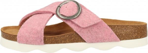 Shepherd Hausschuhe Wolle Pink