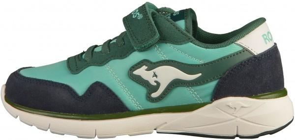 KangaROOS Sneaker Leder/Textil Grün