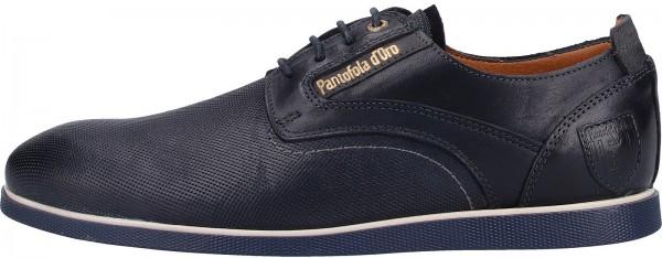 Pantofola d Oro Halbschuhe Leder Blau
