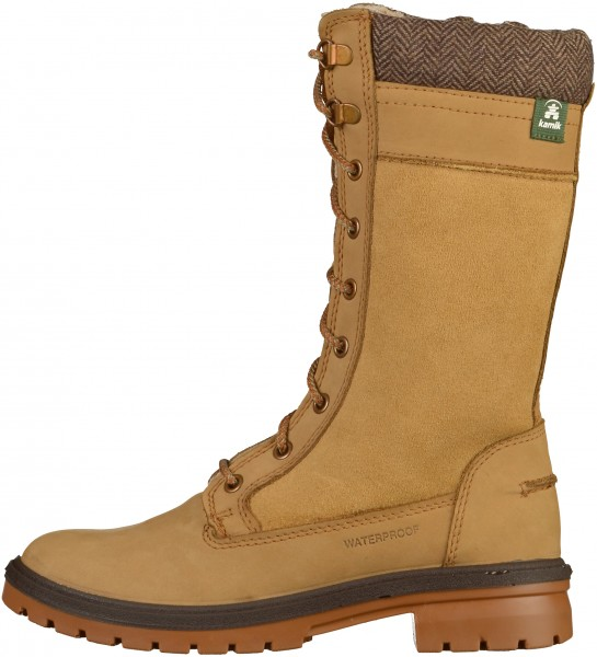 Kamik Stiefel Leder Honey Warmfutter