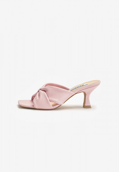 Inuovo Mules Leather Peach