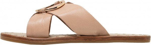Inuovo Mules Leather Beige