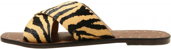 Inuovo Mules Leather Beige / Black