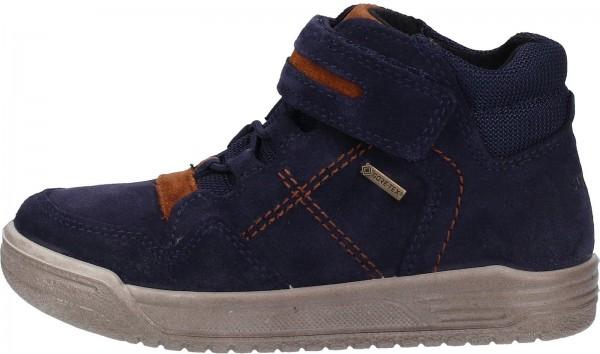 Superfit Sneaker Veloursleder Blau/Braun