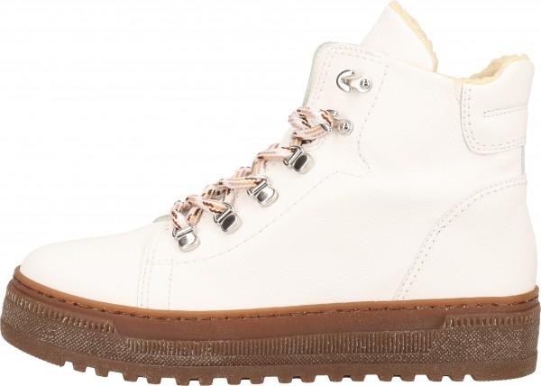 Gabor Stiefelette Leder Weiß