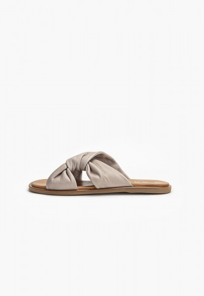 Inuovo Mules Leather Gray