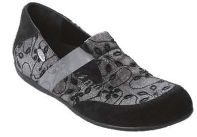 PAPILLIO Lancaster Halbschuhe Veolurs/Textil/Synthetik Black