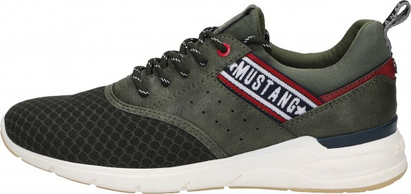 Mustang Sneaker Syntetik/Textile oliv