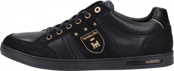 Pantofola d Oro Sneaker Leder Schwarz/Schwarz