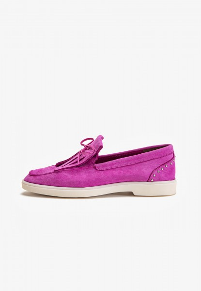 Inuovo Loafers Leather Fuchsia