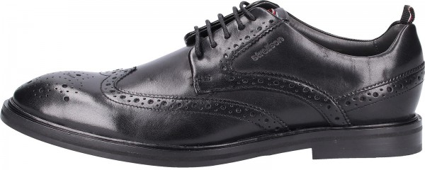 Strellson Business shoes Leather black2
