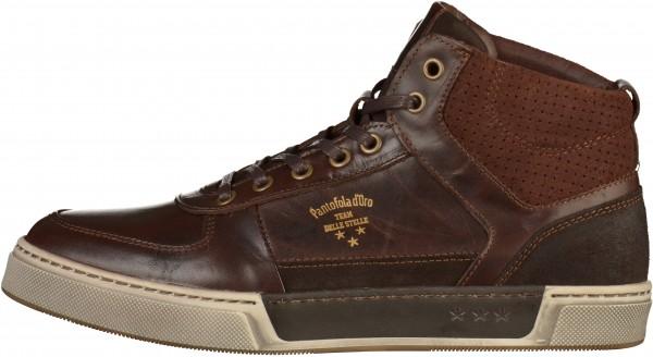 Pantofola d Oro Sneaker Leder Dunkelbraun