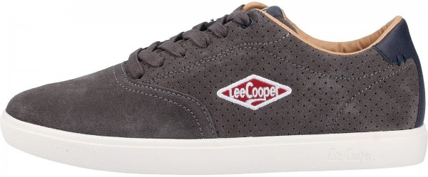 Lee Cooper Sneaker Veloursleder Grau