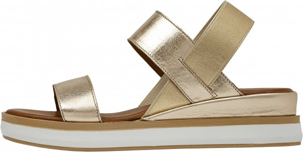 Inuovo Sandals Leather Gold