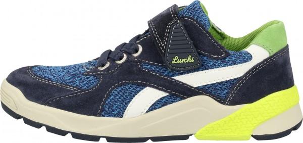 Lurchi Sneaker Velourleder/Textil Blau