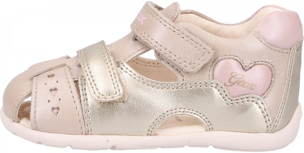 Geox Sandals Leather Beige/ pink