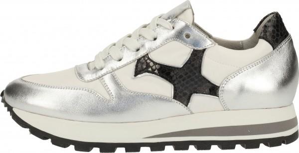 Peter Kaiser Sneaker Lederimitat/Textil Silber