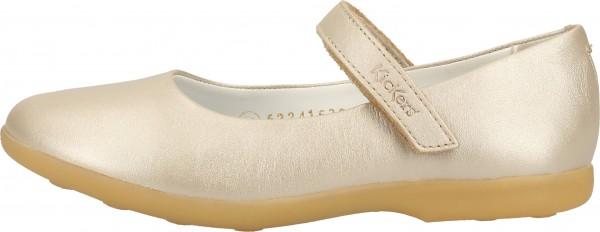 Kickers Ballerinas Leder Weiß