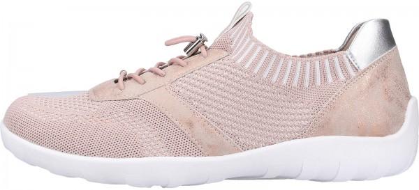 Remonte Sneaker Lederimitat/Textil Hellrosa