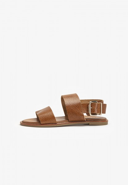 Inuovo Sandals Leather Medium Brown