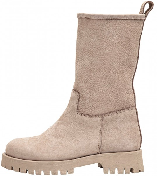 Inuovo Booties Leather Silver/grey