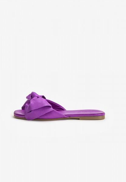 Inuovo Pantoletten Leder Purple