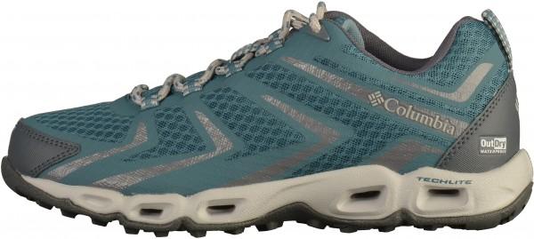 Columbia Wanderschuhe Lederimitat/Textil Blau