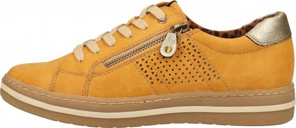 Relife Sneaker Lederimitat Gelb