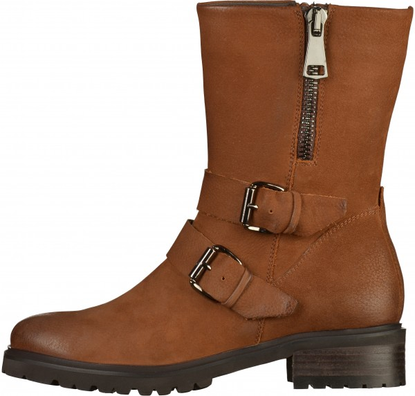 SPM Boots Leather Cognac