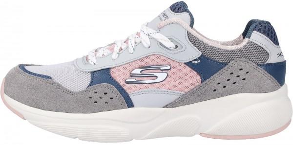 Skechers Sneaker Leder Grau