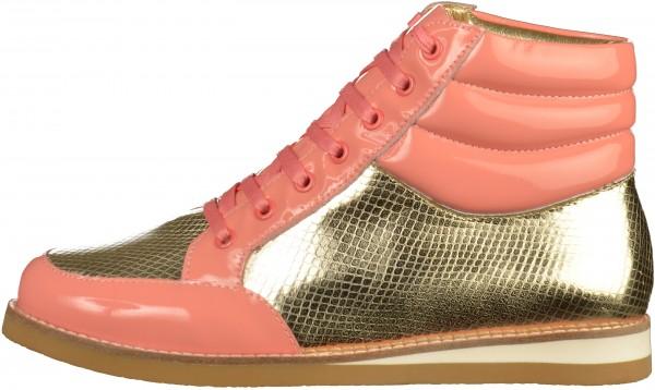 Lola Ramona Sneaker Leder Gold