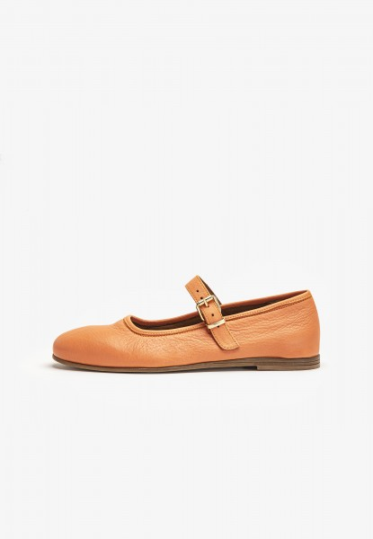 Inuovo Ballerinas Leder Orange