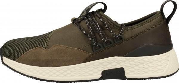 Replay Sneaker Veloursleder/Textil Grün